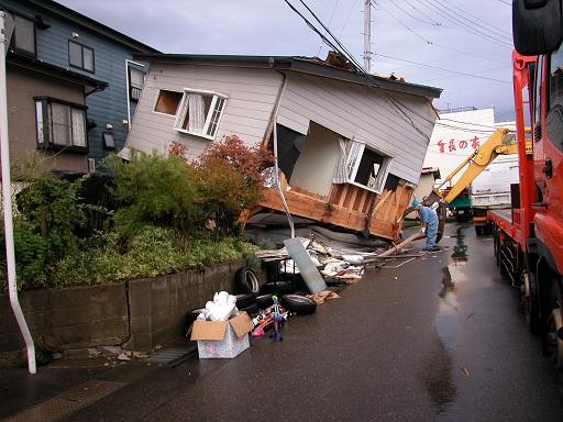 中越地震の住宅被害